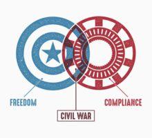 Civil War - A Diagram Baby Tee
