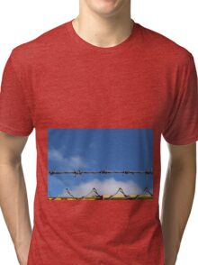 Barbed wire heaven  Tri-blend T-Shirt