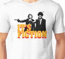 It's Fiction - Pulp Fiction Atheism Parody  Unisex T-Shirt