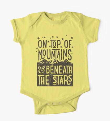 On Top Of Mountains One Piece - Short Sleeve