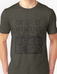 On Top Of Mountains Unisex T-Shirt