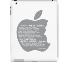 your time is limited (v2) - steve jobs iPad Case/Skin