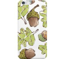 Oak Leaves and Acorns iPhone Case/Skin