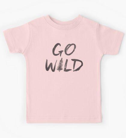 Go Wild Kids Tee
