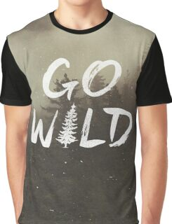 Go Wild Graphic T-Shirt