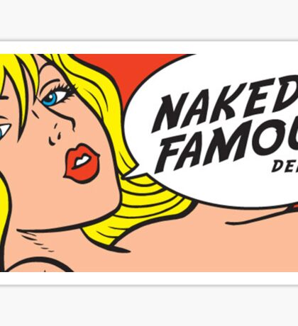Naked and Famous Denim Sticker