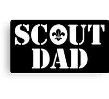 Scout Dad Canvas Print