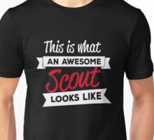 This is what an awesome scout looks like Unisex T-Shirt