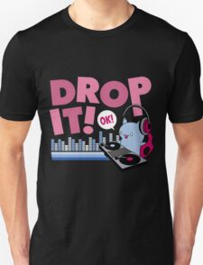 Drop It Ok Cat DJ T-Shirt