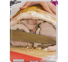 baked ham iPad Case/Skin
