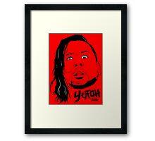 WWE Shinsuke Nakamura Yeaoh Framed Print