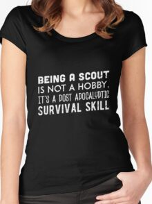 Being a scout is not a hobby Women's Fitted Scoop T-Shirt