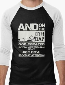 Royal Australian Navy T-shirt Men's Baseball ¾ T-Shirt
