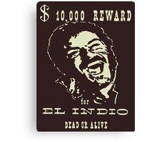 El Indio Canvas Print