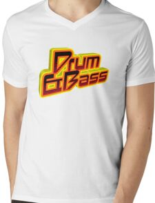 D&B Logo Mens V-Neck T-Shirt