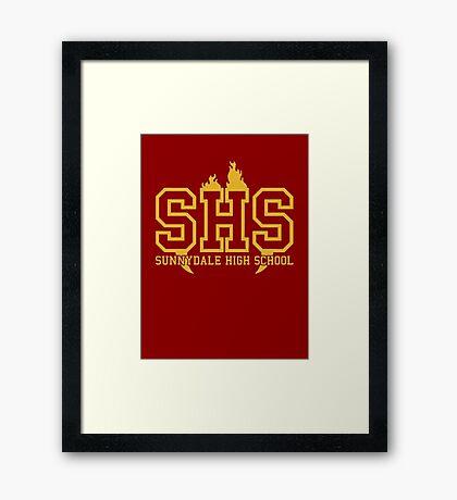 BTS SDHS Framed Print