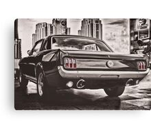 FORD MUSTANG GT 60s Canvas Print
