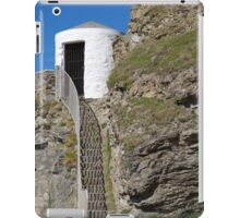 The Lower Pilots Lookout at Portreath iPad Case/Skin