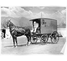 THE HORSE AND THE WAGON Poster