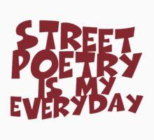 street poetry Kids Tee