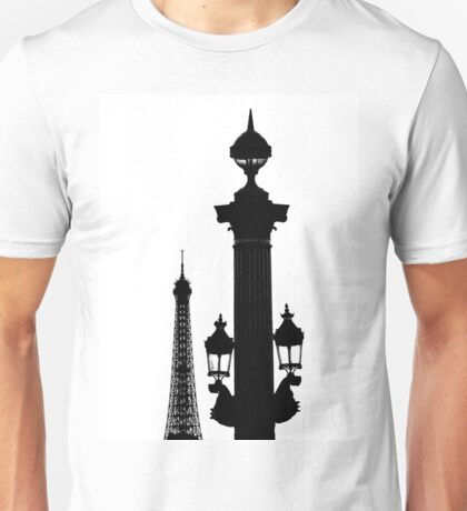 Parisian Silhouettes ~ Part One Unisex T-Shirt
