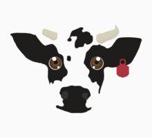 CowFace One Piece - Short Sleeve