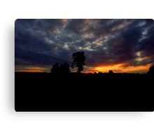 Silverdale Sunset Collection (12) Canvas Print