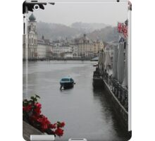 lucerne on a rainy day iPad Case/Skin
