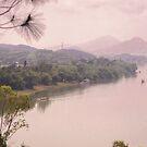 Perfume River Hue 2 by Andrew  Makowiecki