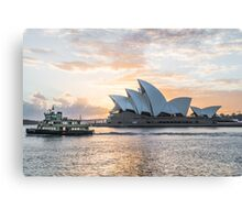 Ferry passing the Sydney Opera House Canvas Print