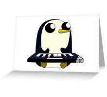 Gunter Keyboard Greeting Card