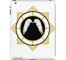 Angel Wings Emblem iPad Case/Skin