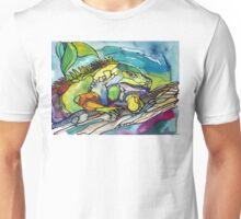 Iguana in the hide Unisex T-Shirt