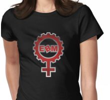 EBM Logo 6 Womens Fitted T-Shirt
