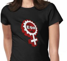 EBM Logo 7 Womens Fitted T-Shirt