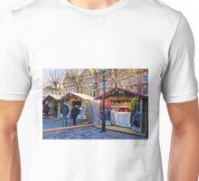 Salisbury Christmas Market, Wiltshire, UK Unisex T-Shirt