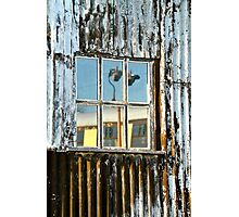 The Window Of The Railway Shed Photographic Print