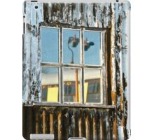The Window Of The Railway Shed iPad Case/Skin