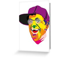 Jerry Lewis Greeting Card