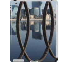 Embankment cast-iron fence iPad Case/Skin