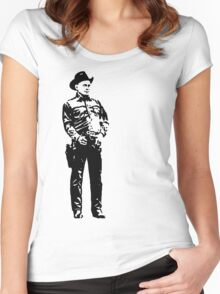 Gunslinger Women's Fitted Scoop T-Shirt