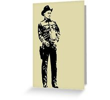 Gunslinger Greeting Card