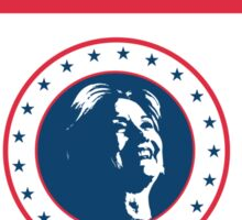 Vote for Hillary Sticker