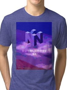 THE MYSTERIOUS N I N T E N D O  6  4 Tri-blend T-Shirt