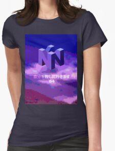 THE MYSTERIOUS N I N T E N D O  6  4 Womens Fitted T-Shirt