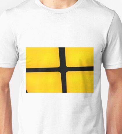 rubix in yellow Unisex T-Shirt