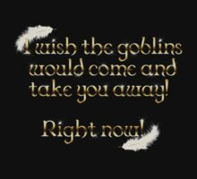 Goblins Take You Away (Black) One Piece - Long Sleeve