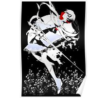 RWBY - White on Black Poster