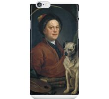 William Hogarth The Painter and his Pug  iPhone Case/Skin