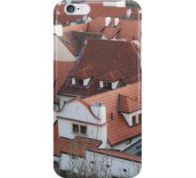 Prague Rooftops iPhone Case/Skin